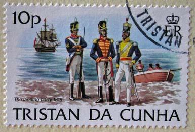 Selo Ilha Tristão da Cunha