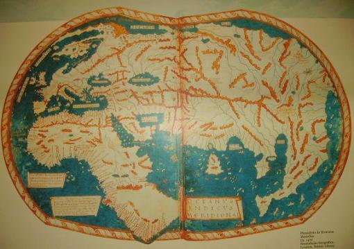 Planisfério de Henricus Martellus (Ca. 1470)
