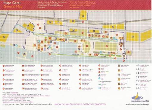 Mapa EXPO