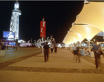 Torre Vasco da Gama e Praça Sony