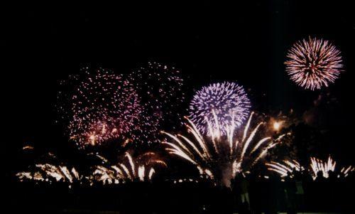 Fogo de Artifício encerramento EXPO'98